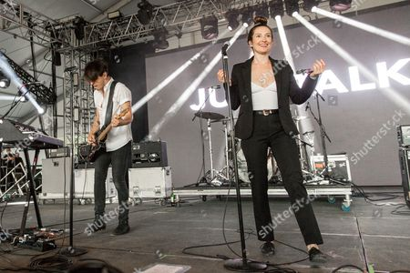 July Talk - Peter Dreimanis and Leah Fay