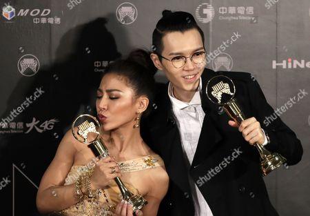 Eve Ai and Khalil Fong