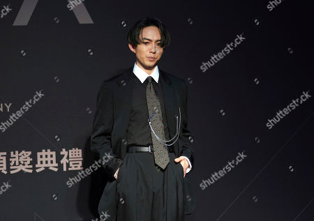 Taiwanese singer Yoga Lin arrives at the 28th Golden Melody Awards in Taipei, Taiwan, . Lin is nominated for Best Male Mandarin Singer for his self-titled album ''Sell like hot cakes'' at this year's Golden Melody Awards, one of the world's biggest Chinese-language pop music annual events