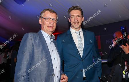 Günther Jauch and Steffen Hallaschka