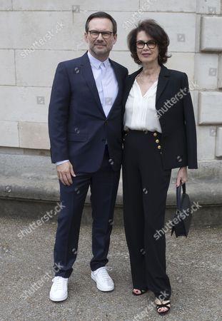 Dayle Haddon and Christian Slater