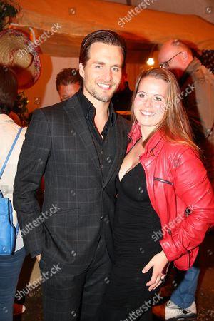 Alexander Klaws mit Nadja Scheiwiller