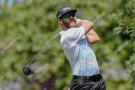 Graham DeLaet follows his tee shot on the 6th hole during the third round of the Travelers Golf Championship at TPC River Highlands in Cromwell, Connecticut