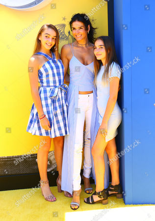 Angie Harmon, Finley Sehorn and Avery Sehorn