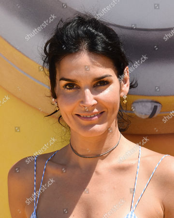 Stock Image of Angie Harmon