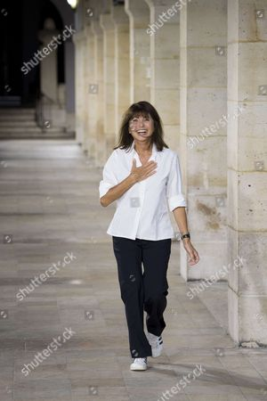 Stock Photo of Veronique Nichanian on the catwalk