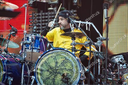 Editorial image of The Stone Roses in concert at the Hampden Park, Glasgow, Scotland, UK - 24 Jun 2017