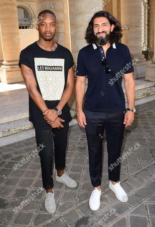 Ahmed Drame and Numan Acar