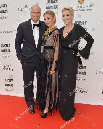 Tessa Hartmann CBE, Tallia Storm and Sascha Hartmann