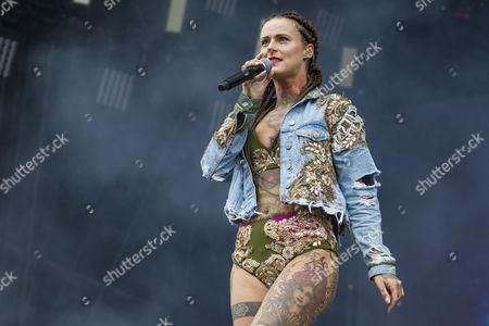 Stock Photo of Jennifer Rostock