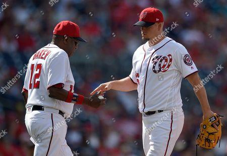 Editorial picture of Reds Nationals Baseball, Washington, USA - 25 Jun 2017