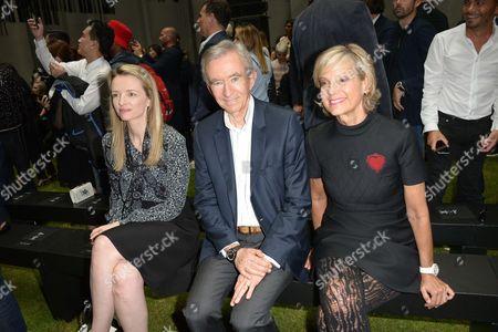 Delphine Arnault, Bernard Arnault, Helene Mercier-Arnault