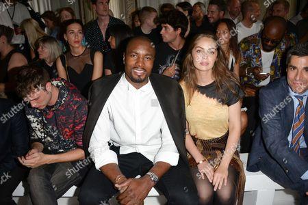 Editorial picture of Balmain show, Front Row, Spring Summer 2018, Paris Fashion Week Men's, France - 24 Jun 2017