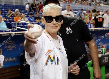 Editorial photo of Cubs Marlins Baseball, Miami, USA - 25 Jun 2017