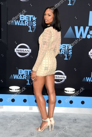 Editorial picture of BET Awards, Arrivals, Los Angeles, USA - 25 Jun 2017