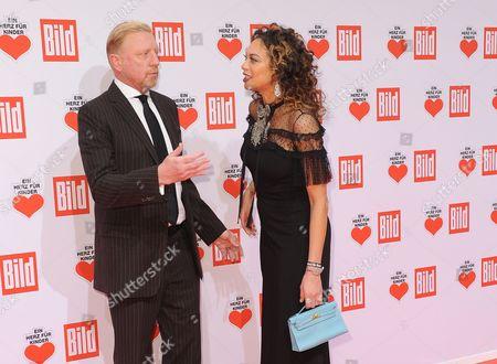 Boris Becker + Frau Lilly