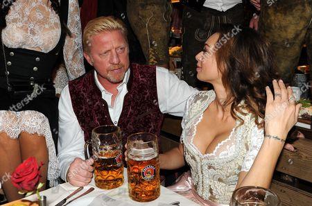 Editorial image of Boris Becker at Oktoberfest, Bayern, Germany - 17 Sep 2016