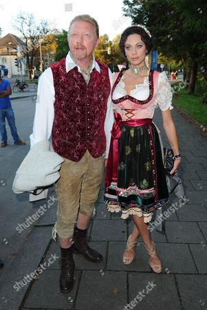 Boris Becker + Frau Lilly  - Oktoberfest
