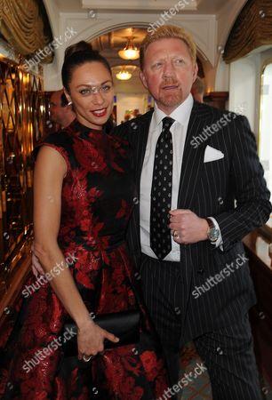 Boris Becker  + Frau Sharlely Lilly