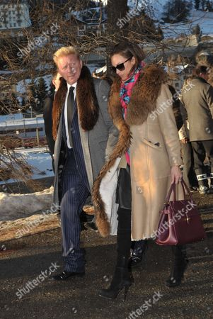 Boris Becker + Frau Sharlely Lilly Kerssenberg