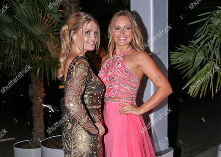 Lady Kitty Spencer and Anne Julia Hagen