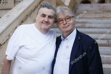 Pierre Menes and Dominique Besnehard