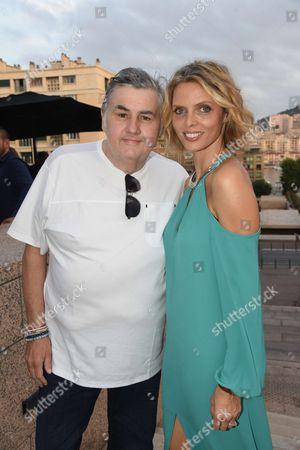 Pierre Menes and Sylvie Tellier