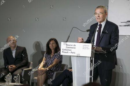 Editorial photo of Presentation of new Pinault Foundation museum, Paris, France - 26 Jun 2017