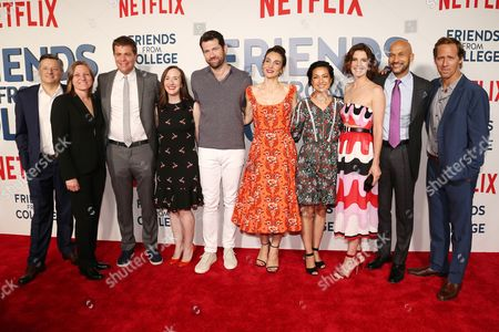 Editorial picture of 'Friends from College' TV show premiere, Arrivals, New York, USA - 26 Jun 2017