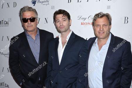 Alec Baldwin, John Buffalo Mailer and Michael Mailer
