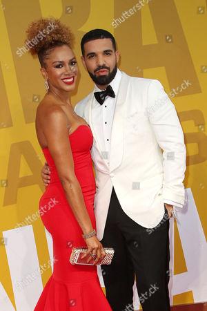 Rosalyn Gold-Onwude and Drake
