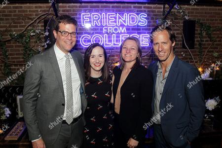 Nicholas Stoller (Director), Francesca Delbanco (Writer), Cindy Holland (VP Original Content Netflix), Nat Faxon