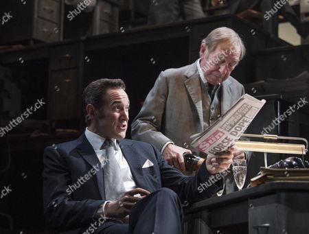 Bertie Carvel as Rupert Murdoch, Geoffrey Freshwater as Sir Alick McKay