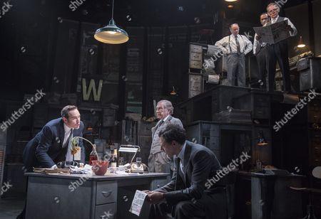 Bertie Carvel as Rupert Murdoch, Geoffrey Freshwater as Sir Alick McKay, Richard Coyle as Larry Lamb, David Schofield as Hugh Cudlip, Tony Turner as Frank Nicklin, Rene Zagger as Ray Mills,