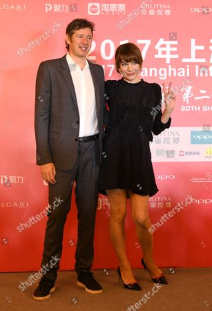 Stock Picture of Paul WS Anderson and Milla Jovovich