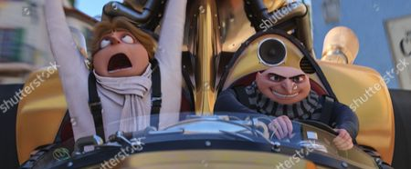 Dru and Gru (Steve Carell)