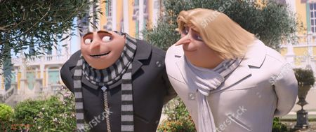 Stock Photo of Gru and Dru (Steve Carell)