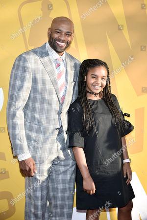 Editorial image of NBA Awards, Arrivals, New York, USA - 26 Jun 2017