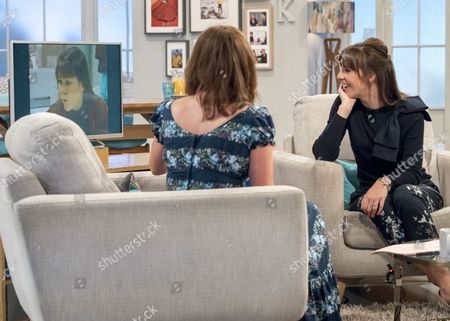 Lorraine Kelly and Verity Rushworth