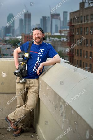 Stock Photo of John Smeaton QGM is a former baggage handler at Glasgow International Airport. He became involved in thwarting the 2007 Glasgow International Airport Attack