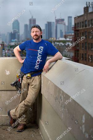 Editorial picture of John Smeaton photoshoot, New York, USA - 17 Jun 2017