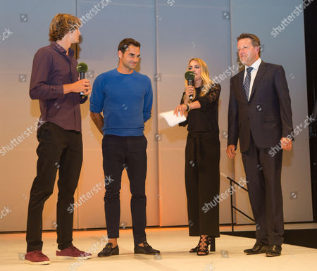 Editorial photo of Gerry Weber Open, Fashion night, Halle, Germany - 24 Jun 2017