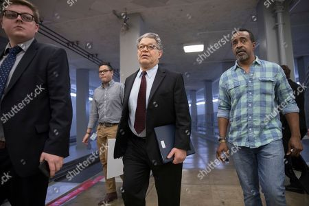 Al Franken, Tim Meadows Senator Al Franken, D- Minn., is joined by actor and comedian Tim Meadows, as he walks to the Senate as Senate Republican leaders decided to delay a vote on their health care bill until after the July 4 recess, at the Capitol in Washington, . Both Franken and Meadows are former cast members of Saturday Night Live