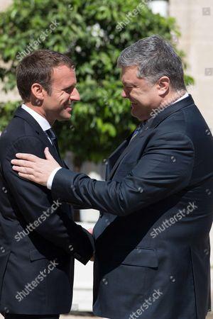 Editorial image of Ukrainian President Porochenko visits France - 26 Jun 2017