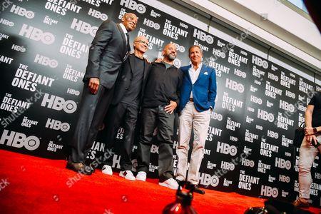 Dr Dre, Jimmy Iovine, Allen Hughes, Richard Plepler