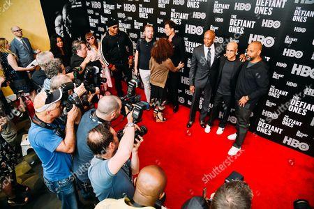 Simone Smith, LL Cool J, Dr Dre, Jimmy Iovine, Allen Hughes