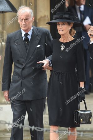 Editorial image of Countess Mountbatten of Burma funeral, St Paul's Church, Knightsbridge, London, UK - 27 Jun 2017