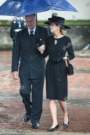 Editorial photo of Countess Mountbatten of Burma funeral, St Paul's Church, Knightsbridge, London, UK - 27 Jun 2017