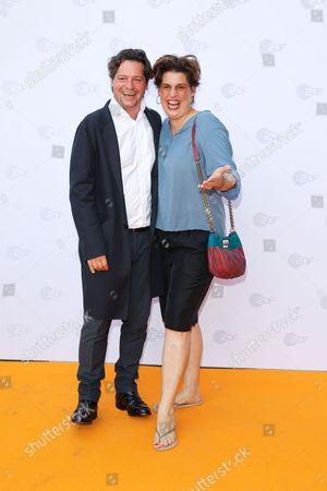 Fritz Karl mit Ehefrau Elena Uhlig,..