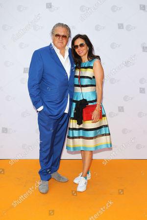 Michael Brandner mit Ehefrau Karin,..